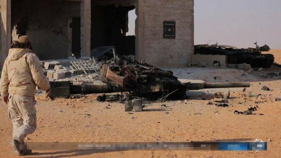 Ro tin sieu tang T-90 Nga san xuat bi IS ban ha o Syria hinh anh 1