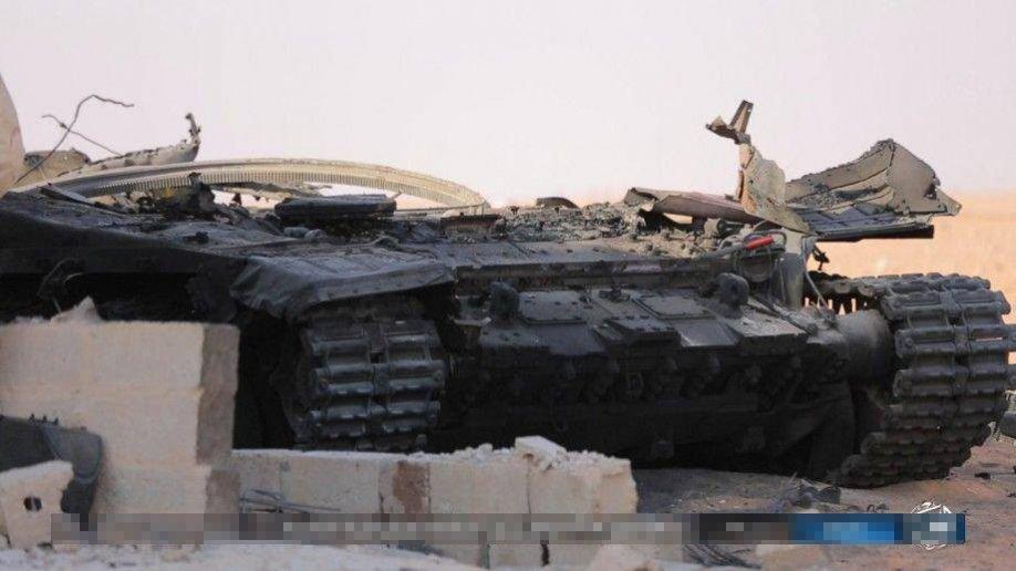 Ro tin sieu tang T-90 Nga san xuat bi IS ban ha o Syria hinh anh 2