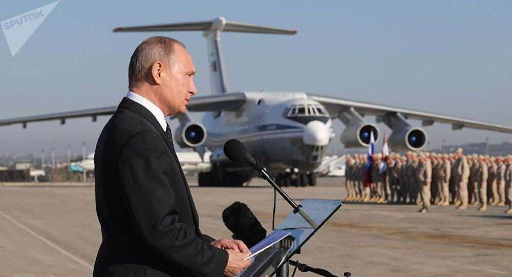 Tuyen bo rut quan khoi Syria cua Tong thong Putin an chua dieu gi? hinh anh 1
