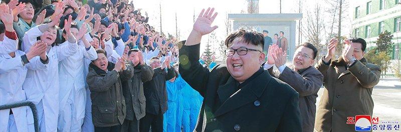 Anh: Ong Kim Jong-un va vo tham nha may duoc lau doi nhat Trieu Tien hinh anh 16