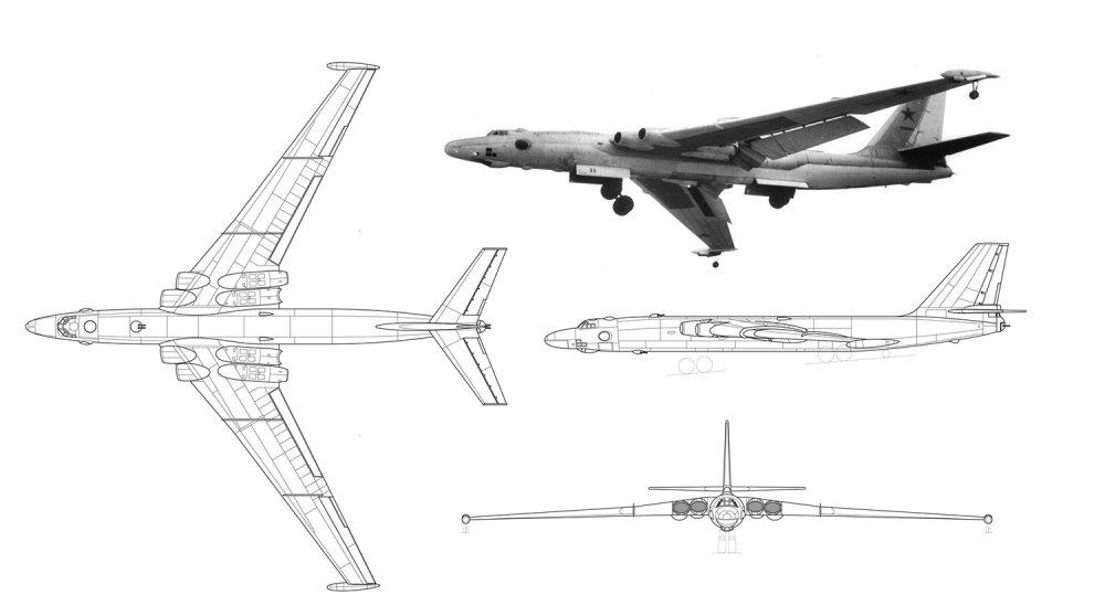 Anh: Myasishchev M-4, doi thu dang gom cua phao dai bay B-52 hinh anh 3