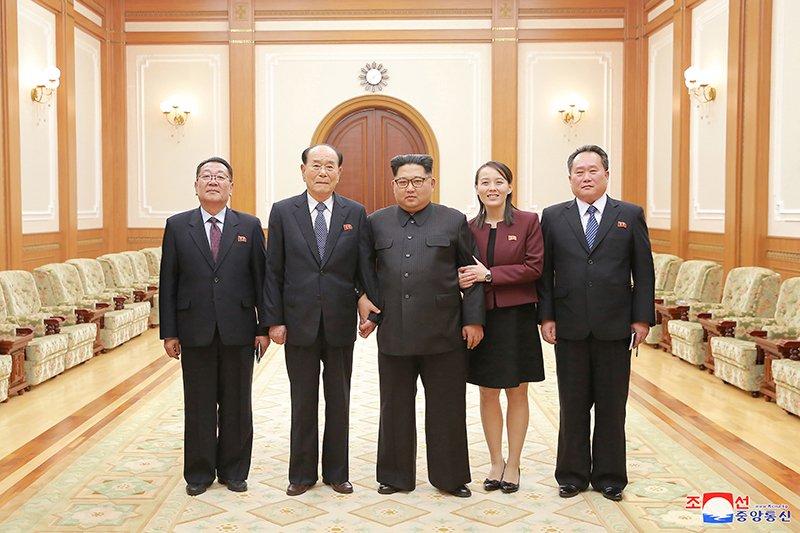 Ong Kim Jong-un noi gi sau chuyen tham Han Quoc cua phai doan cap cao Trieu Tien? hinh anh 1