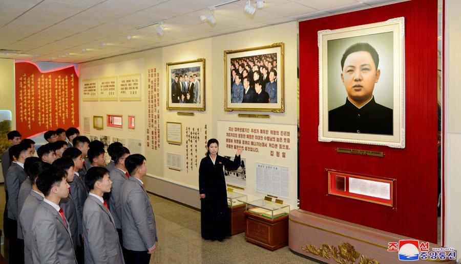 Anh: Trieu Tien ky niem 76 nam ngay sinh co lanh dao Kim Jong-il hinh anh 2