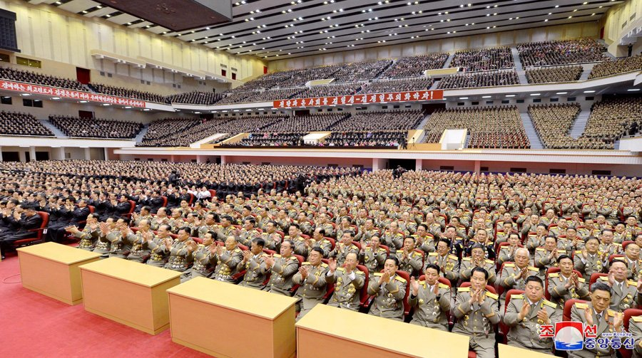 Anh: Trieu Tien ky niem 76 nam ngay sinh co lanh dao Kim Jong-il hinh anh 11