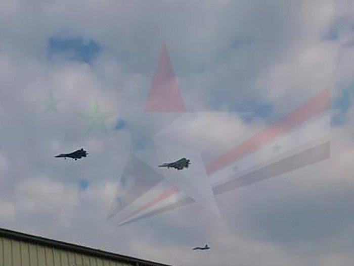 Video: Nghi van sieu tiem kich Su-57 xuat hien o Syria hinh anh 1