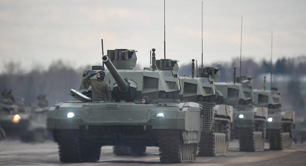 Chuyen gia xe tang My khen sieu tang T-14 Armata cua Nga hinh anh 1