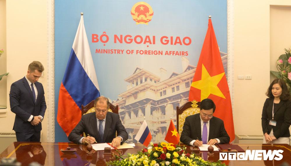 Bo Ngoai giao Viet Nam, Nga ky ke hoach hop tac 2019-2020 hinh anh 3