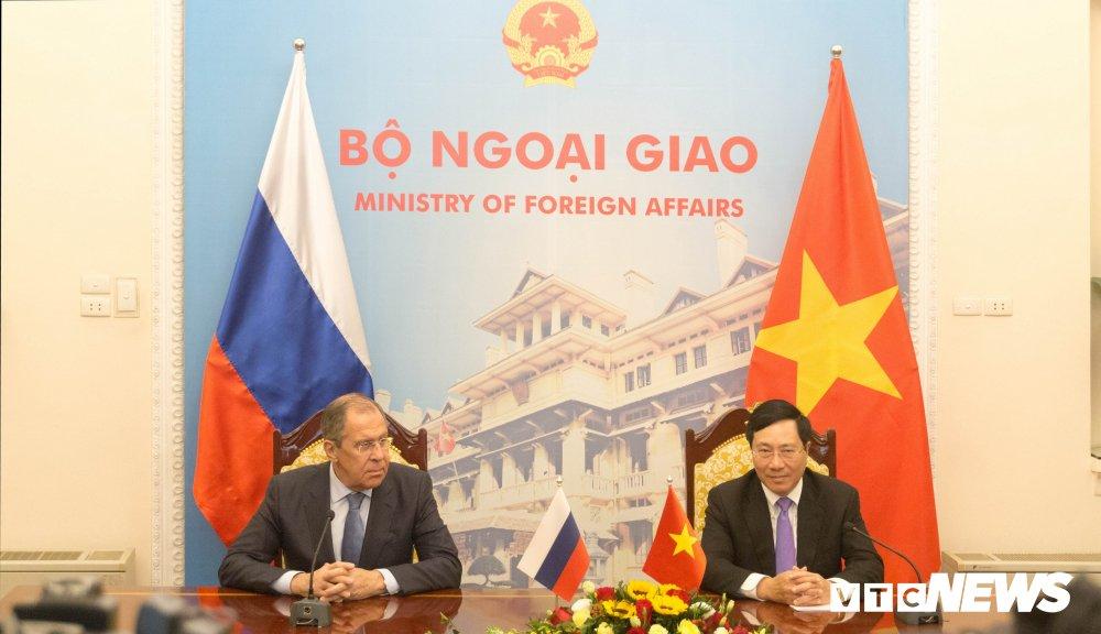 Bo Ngoai giao Viet Nam, Nga ky ke hoach hop tac 2019-2020 hinh anh 1