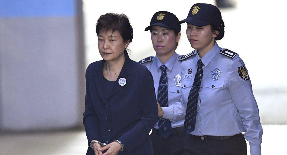 Cuu Tong thong Han Quoc Park Geun-hye linh an 24 nam tu hinh anh 1