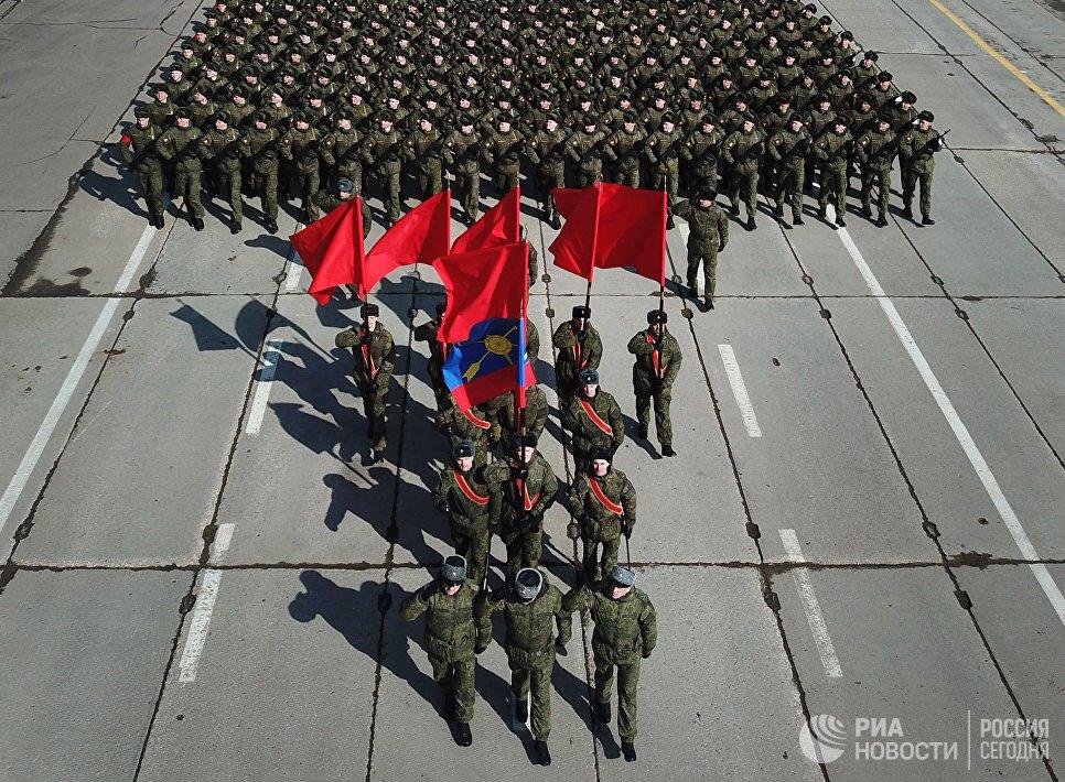 Anh: Dan vu khi toi tan se co mat trong le duyet binh Ngay Chien thang 9/5 o Nga hinh anh 10