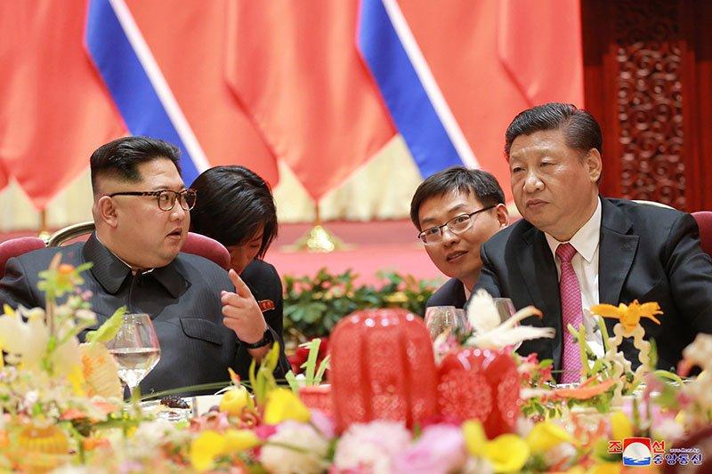 Anh hiem ve chuyen tham Trung Quoc cua ong Kim Jong-un hinh anh 4