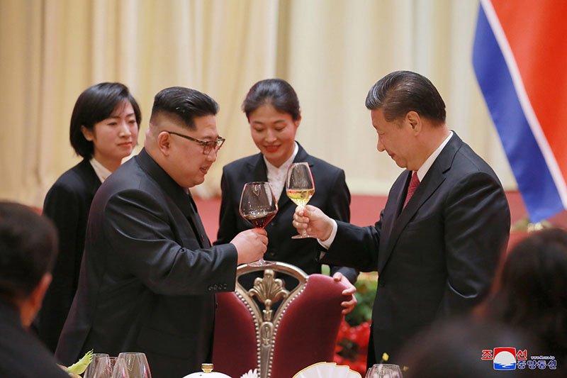 Anh hiem ve chuyen tham Trung Quoc cua ong Kim Jong-un hinh anh 5