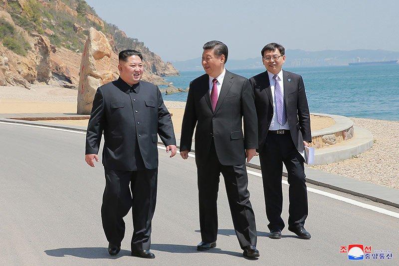 Anh hiem ve chuyen tham Trung Quoc cua ong Kim Jong-un hinh anh 7