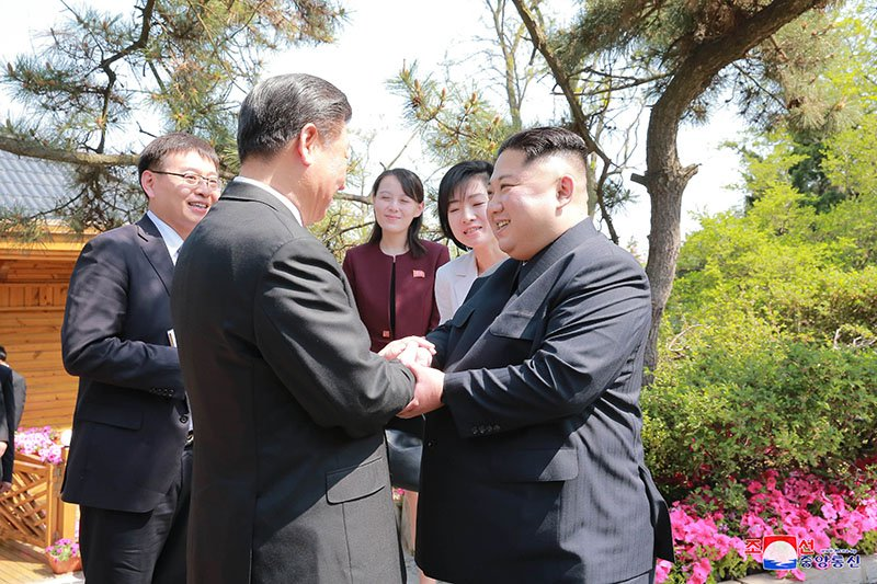 Anh hiem ve chuyen tham Trung Quoc cua ong Kim Jong-un hinh anh 10
