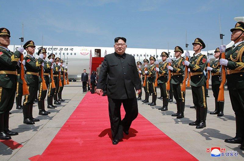 Anh hiem ve chuyen tham Trung Quoc cua ong Kim Jong-un hinh anh 2