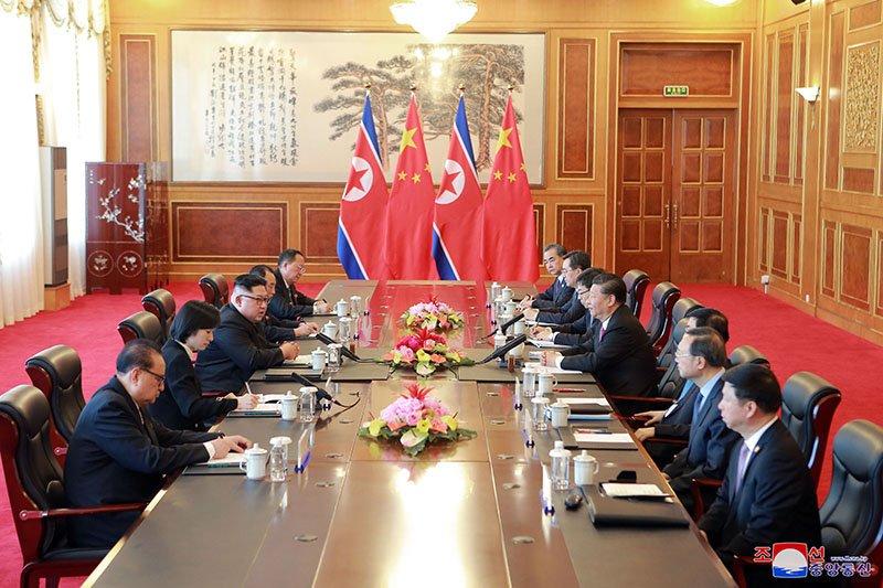Anh hiem ve chuyen tham Trung Quoc cua ong Kim Jong-un hinh anh 3