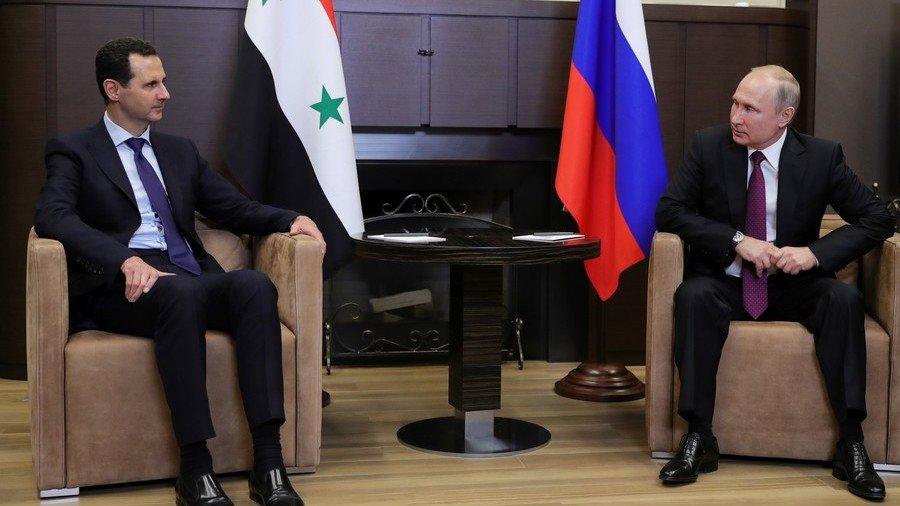 Gap go tai Sochi, hai nha lanh dao Nga-Syria thao luan nhung gi? hinh anh 1