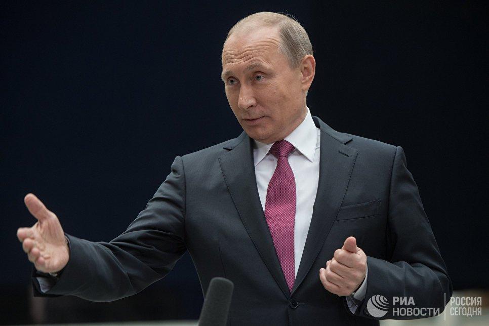 Truoc buoi giao luu truc tuyen, ong Putin nhan duoc hon 1 trieu cau hoi hinh anh 1