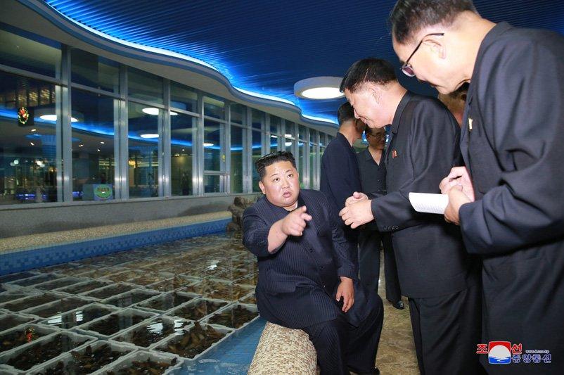 Ong Kim Jong-un di dau truoc khi toi Singapore tham du Hoi nghi My - Trieu? hinh anh 2
