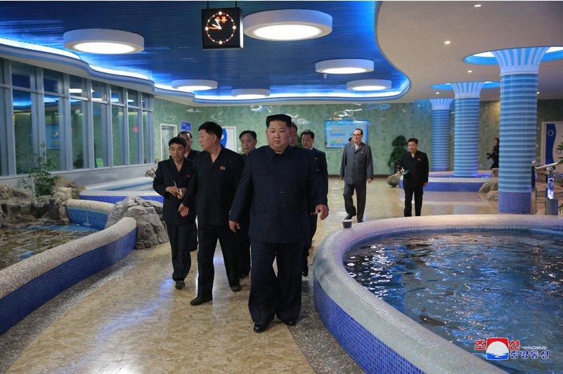 Ong Kim Jong-un di dau truoc khi toi Singapore tham du Hoi nghi My - Trieu? hinh anh 4