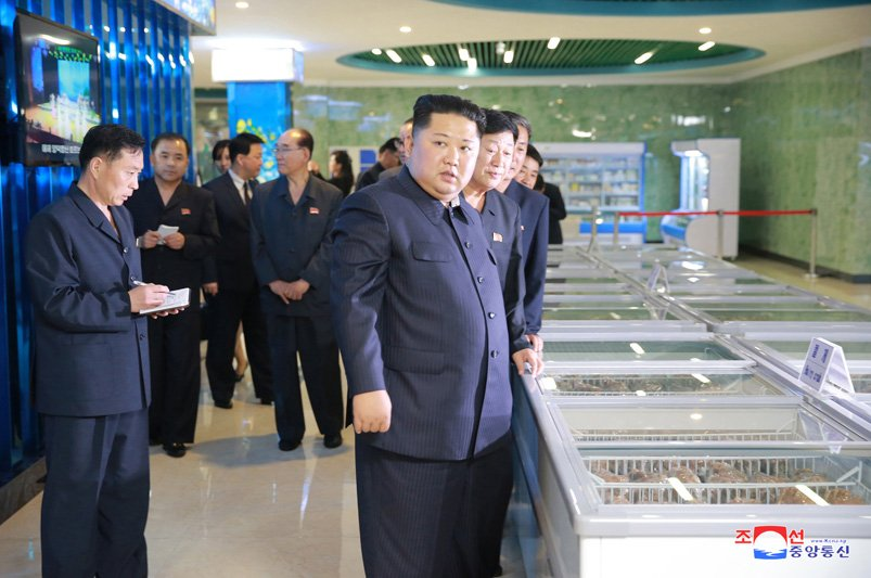 Ong Kim Jong-un di dau truoc khi toi Singapore tham du Hoi nghi My - Trieu? hinh anh 5