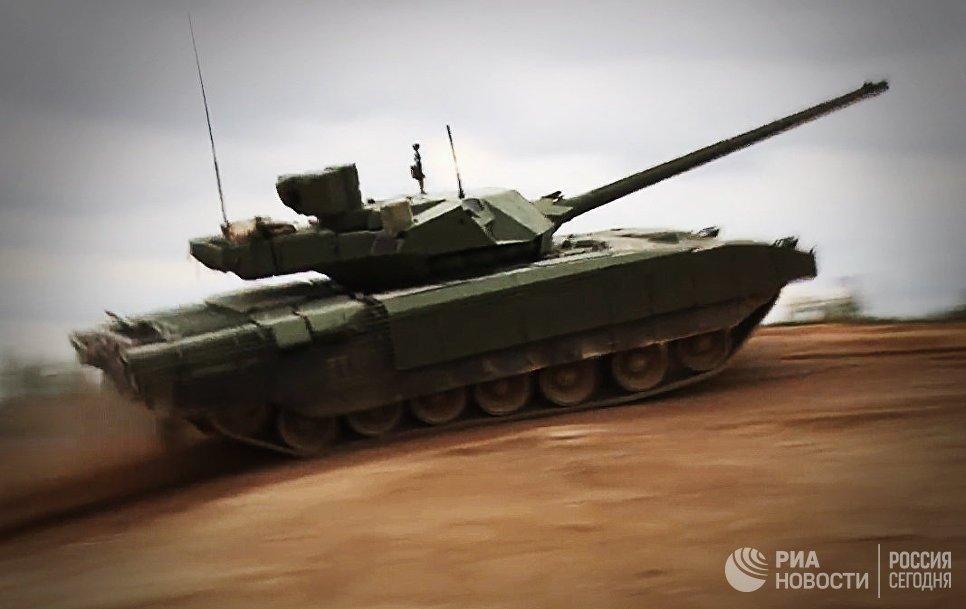 Nga phat trien phien ban sieu tang khong nguoi lai tren nen tang xe tang T-14 Armata hinh anh 1