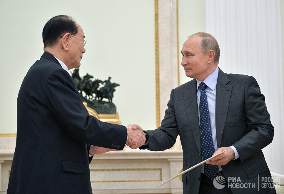 Nga tiet lo noi dung la thu 'ngoai co' ong Kim Jong-un gui Tong thong Putin hinh anh 1