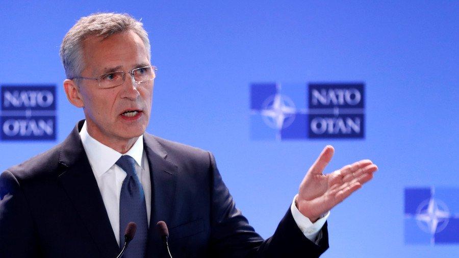Tong thu ky NATO: Tru so moi co man hinh lon rat hop de xem World Cup hinh anh 1