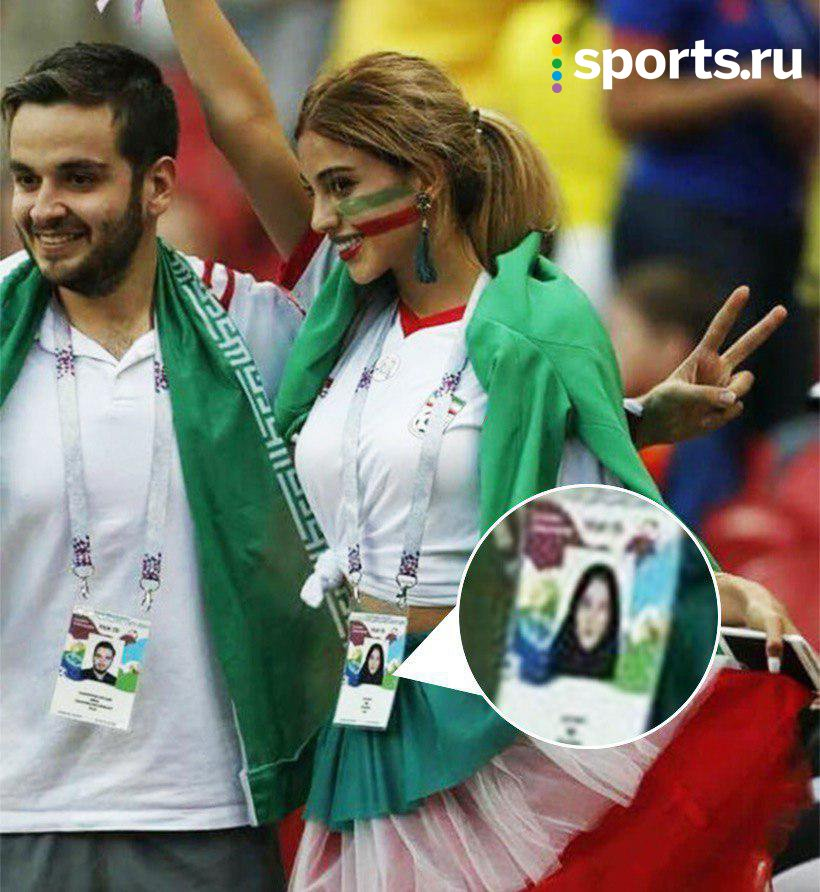 Buc anh nu co dong vien Iran tai World Cup 'gay bao' mang xa hoi Nga hinh anh 1