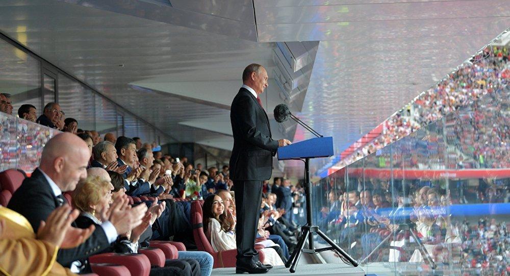 Ong Putin co the toi xem tran Nga - Tay Ban Nha cung vi khach dac biet hinh anh 1