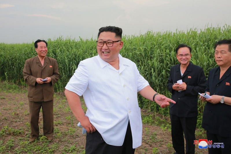 Anh: Ong Kim Jong-un thi sat don vi quan doi va khu vuc giap bien gioi Trung Quoc hinh anh 3