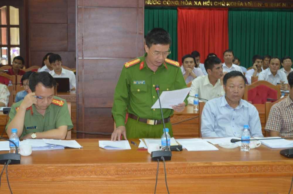 Cong an Dak Lak cho rang VTV co dan dung canh pha rung trong phong su hinh anh 1