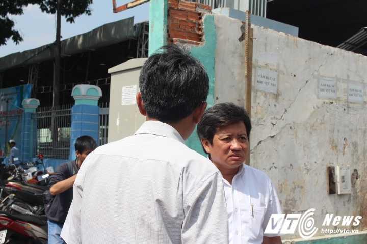 Lan chiem via he, tuong truoc tru so dai dien phia Nam cua Bo Cong thuong bi dap bo hinh anh 8