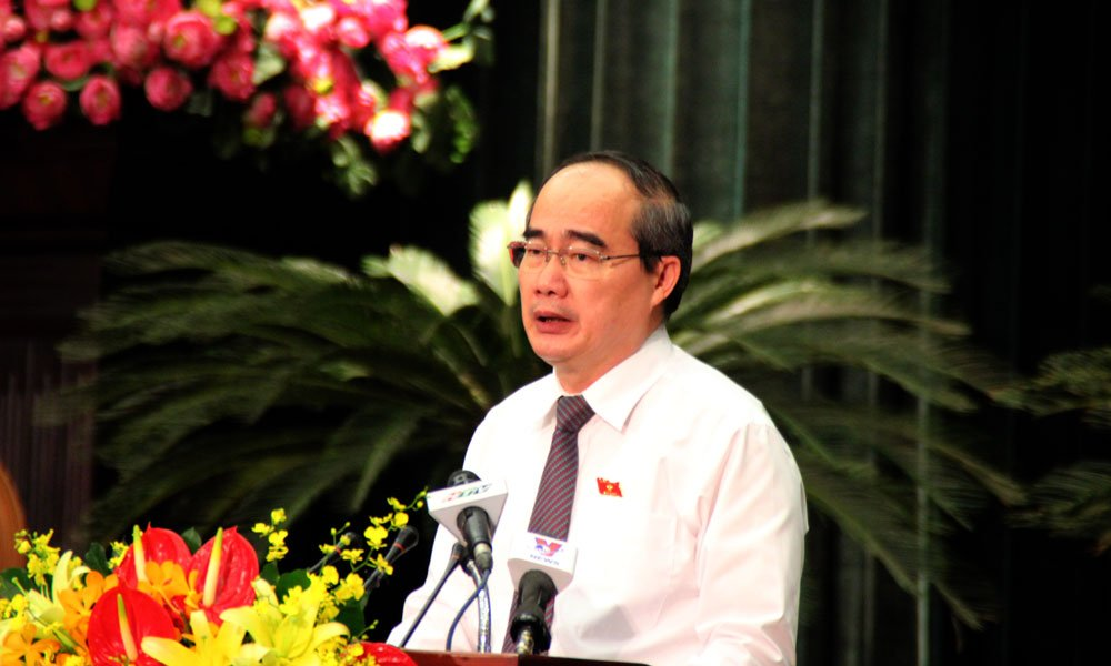 Bi thu TP.HCM Nguyen Thien Nhan nhan thieu sot trong quan ly can bo hinh anh 1