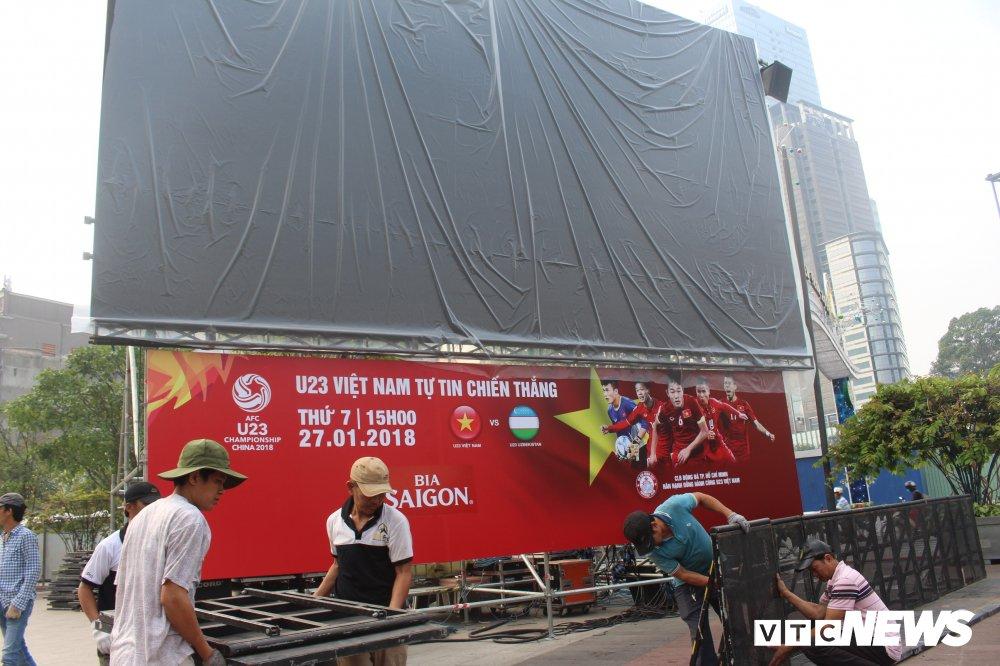 Truc tiep: Khong khi xem tran chung ket U23 Viet Nam - U23 Uzbekistan tren ca nuoc hinh anh 84
