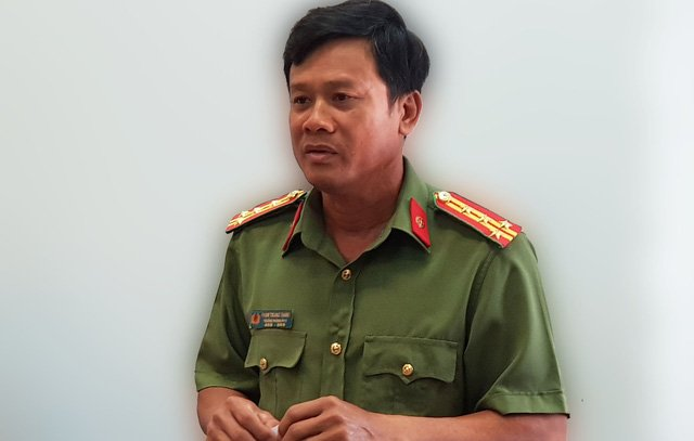 Beu ten nguoi mua, ban dam giua pho o Phu Quoc: Cong an thi tran Duong Dong phai xin loi hinh anh 1