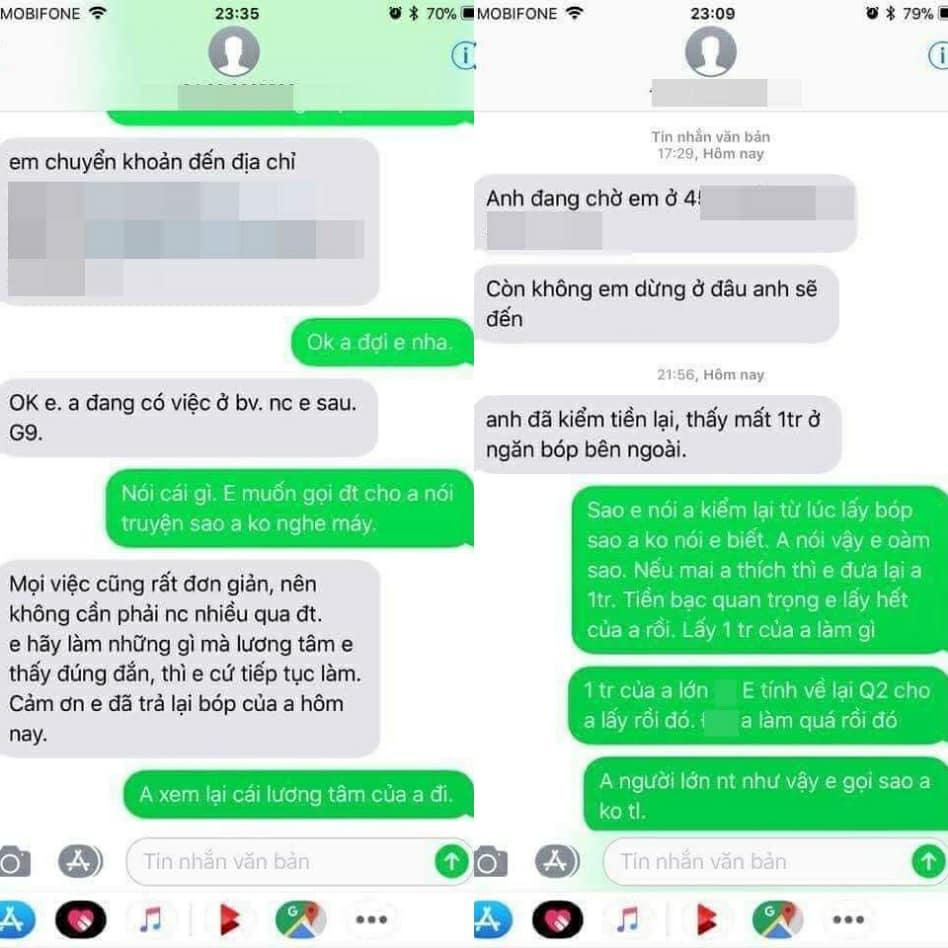 Tra lai 30 trieu dong cho nguoi danh roi, tai xe Uber bat ngo bi to lay trom 1 trieu dong hinh anh 2