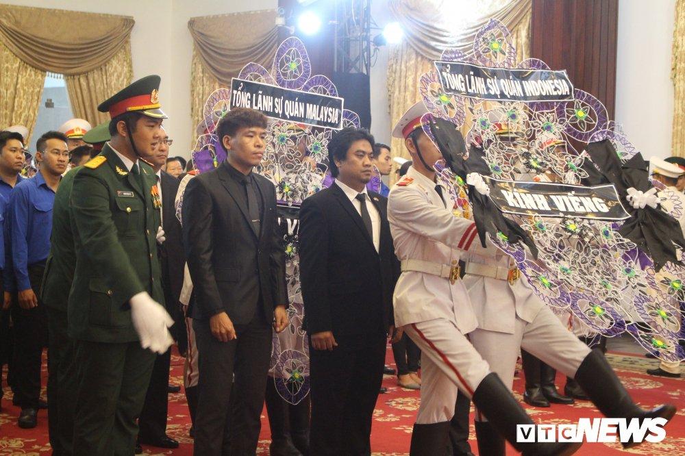 Nhieu doan quoc te vieng nguyen Thu tuong Phan Van Khai hinh anh 1