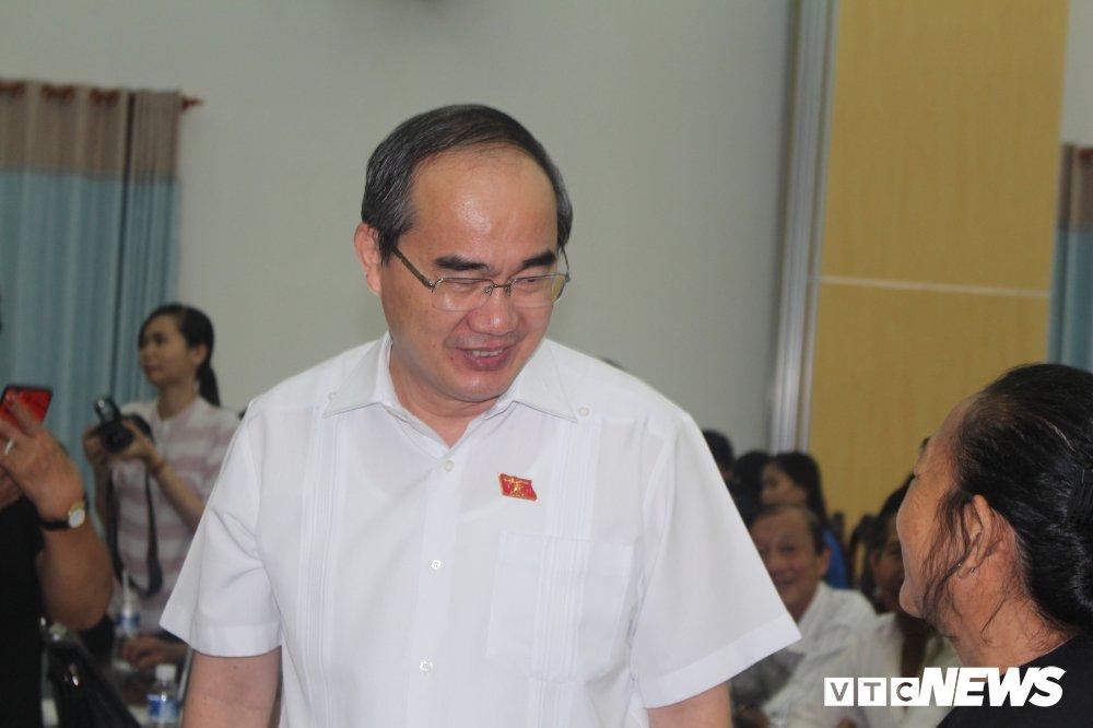 Bi thu Nguyen Thien Nhan se tiep xuc cu tri quan 2 de nghe ve Thu Thiem hinh anh 1