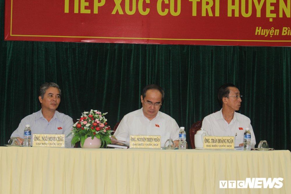 Bi thu Nguyen Thien Nhan se tiep xuc cu tri quan 2 de nghe ve Thu Thiem hinh anh 3