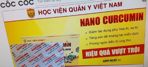 Lat mat 'manh khoe' lap trang web gia mao nap danh Hoc vien Quan y hinh anh 4