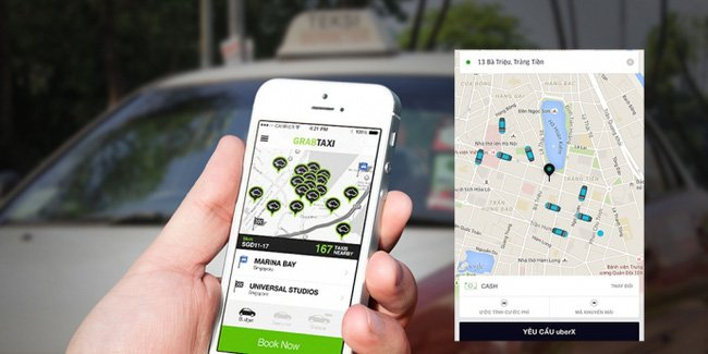 Bo Tai chinh bac de xuat 'Taxi truyen thong nop thue nhu Grab, Uber' hinh anh 1