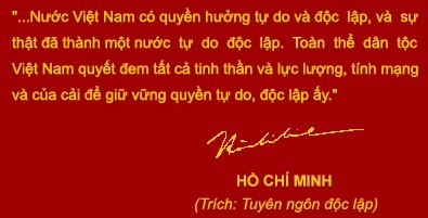 Ven nguyen Loi the Doc lap hinh anh 1