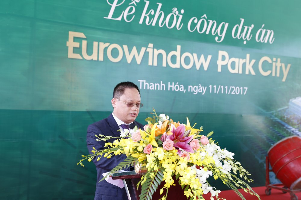 Thanh Hoa: Khoi cong du an KDT Eurowindow Park City hinh anh 1