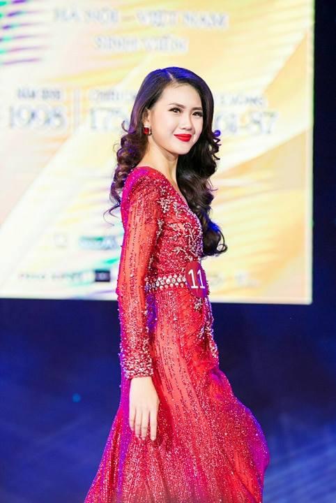 Bui Quynh Hoa dang quang 'Miss Ao dai Viet Nam World 2017' hinh anh 3