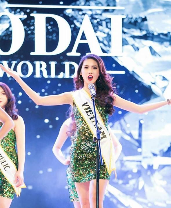 Bui Quynh Hoa dang quang 'Miss Ao dai Viet Nam World 2017' hinh anh 4