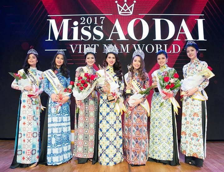 Bui Quynh Hoa dang quang 'Miss Ao dai Viet Nam World 2017' hinh anh 6