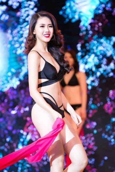 Bui Quynh Hoa dang quang 'Miss Ao dai Viet Nam World 2017' hinh anh 5