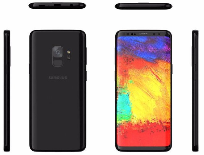 Forbes: Day chinh la Samsung Galaxy S9 hinh anh 1