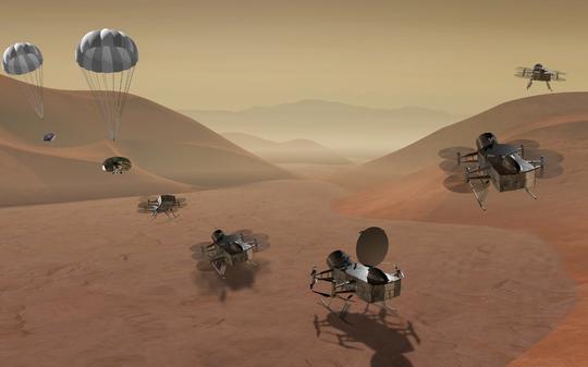 NASA tung chuon chuon may len Mat trang cua sao Tho hinh anh 1